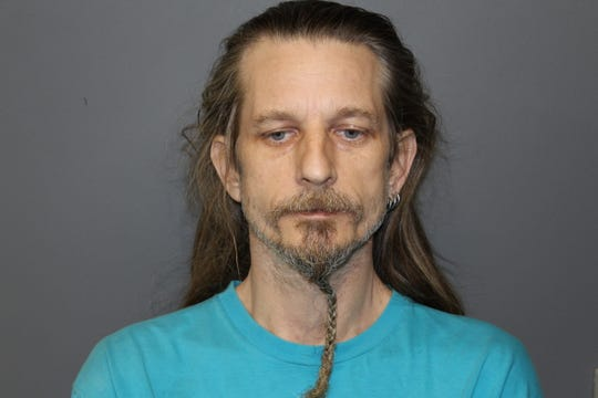 Frederick Schock III of Hackensack was arrested for stabbing his stepson over an argument about dirty dishes, police said.