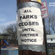 Parks and playgrounds around North Jersey are closed in reaction to the covid-19 pandemic.