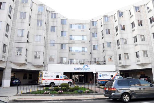 Alaris Health at Hamilton Park on Tuesday, April 7, 2020, in Jersey City.