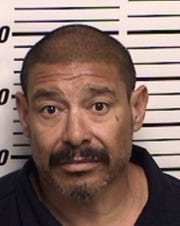 Lorenzo Yrigollen of Artesia was charged with breaking and entering and other crimes after allegedly trying to kick down a door and looking for his wife at an Artesia apartment complex on April 4, 2020.