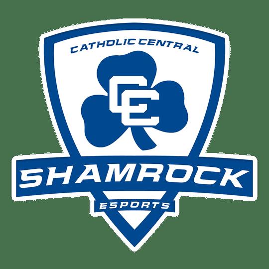The Catholic Central esports logo