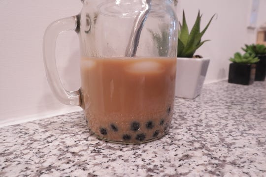 For best quality, only make enough boba to use in one sitting. The quality of flavor and texture decreases significantly if refrigerated for later use then microwaved.