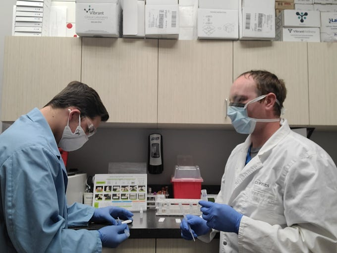 ARCpoint Labs checks for antibodies in the blood that would indicate that a person has been infected with COVID-19 in the past.