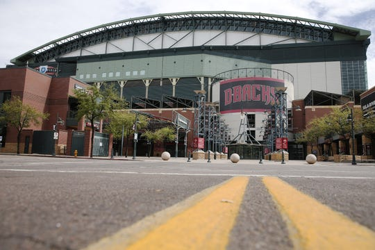 Chase Field and other ballparks in Arizona could end up being very busy later this year.