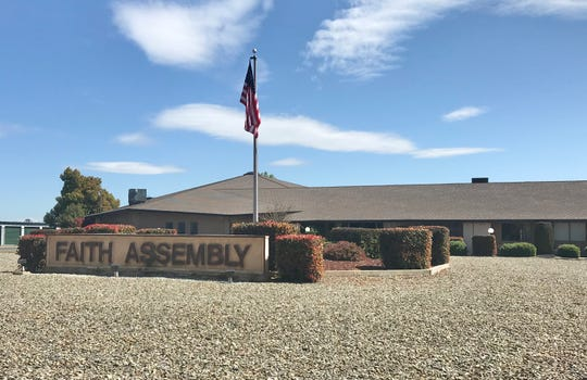Shasta County health officials said a higher-than-expected number of coronavirus cases have been linked to Faith Assembly Church on Airport Road in Redding.