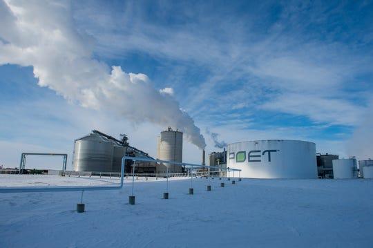 Poet's ethanol plant in Chancellor, South Dakota.