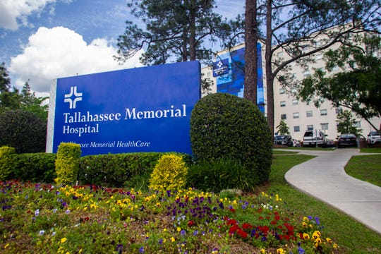 Tallahassee Memorial HealthCare, Tuesday, April 7, 2020.