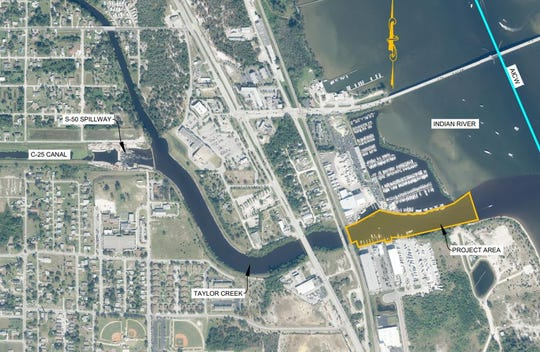 The South Florida Water Management District agreed Thursday, April 9, 2020, to apply for a grant to help St. Lucie County's project to dredge Taylor Creek from the U.S. 1 bridge to the Indian River Lagoon.