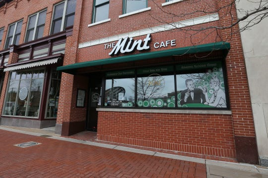 on Thursday, March 26, 2020, at The Mint Cafe in Wausau, Wis. 
