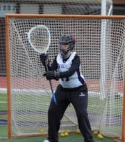 New Rochelle goalie Maddie Bamberger, who'll play for Hobart and William Smith Colleges next year  (Submitted photo)