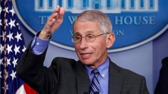 Dr. Anthony Fauci discussed the state's COVID-19 response with Gov. Asa Hutchinson in a phone call on Friday.