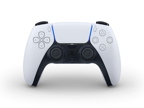 The DualSense controller for PlayStation 5.