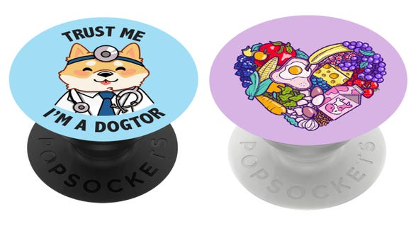 PopSockets khusus ini mendukung badan amal masing-masing.
