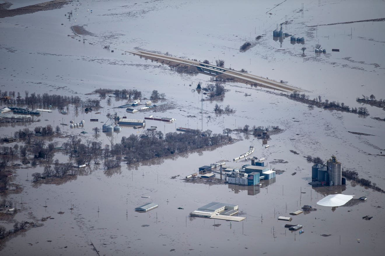 Missouri River due to flood this spring..