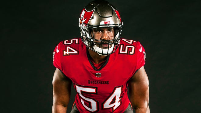 Tampa Bay Buccaneers unveil new uniforms ahead of Tom Brady's first season with...