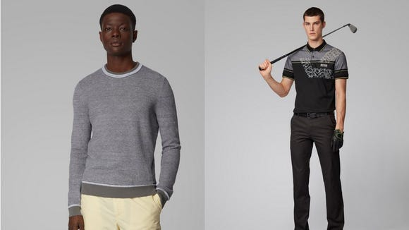 Hugo Boss is using their factories to make essential products.