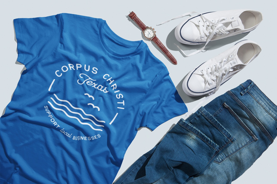 "Visit Corpus Christi teamed up with Made in Corpus Christi to create a custom line of merchandise called ""Visit Corpus Christi Cares"" that will help support local businesses during COVID-19."