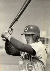 Bob Barton, Holmes, 1959, played 10 years in the major leagues and had a lifetime batting average of .226.