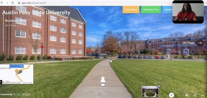 Austin Peay is offering one-one-one tours of its campus amidst global pandemic.