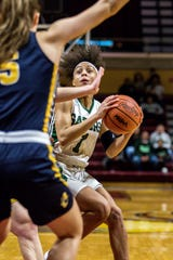 Mya Petticord of Ypsilanti Arbor Prep averaged 20 points, 5.8 rebounds, 4.3 assists, and 3.2 steals this past season.