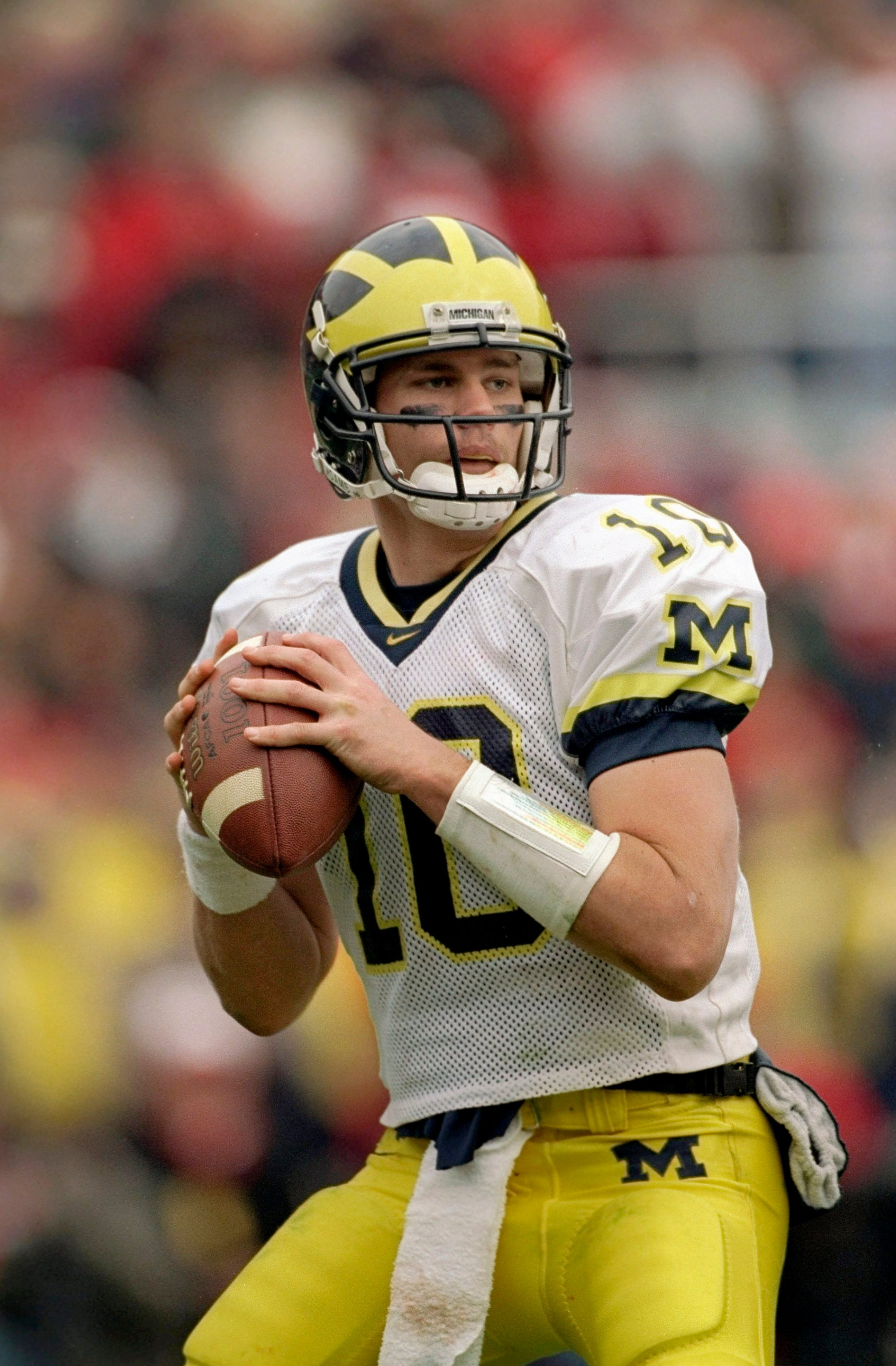 Tom Brady says he learned to be 'all about the team' at Michigan