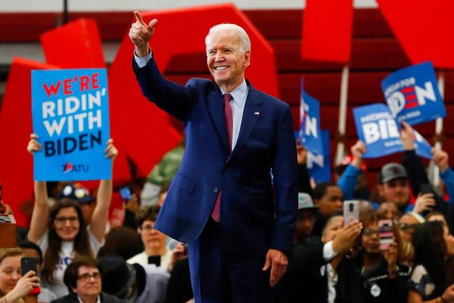 Joe Biden beats Bernie Sanders to win Alaska Democratic primary
