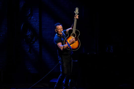 "Bruce Springsteen in ""Springsteen on Broadway."""