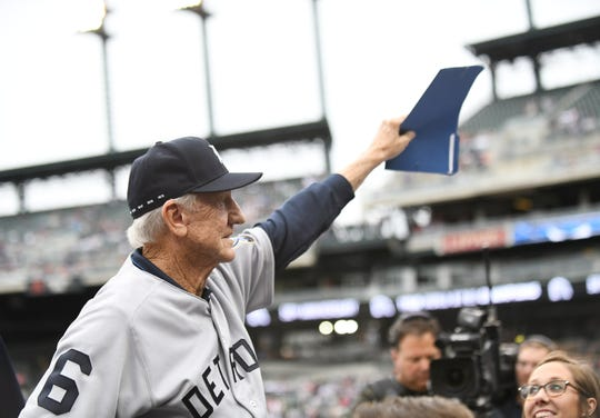 Tigers legend Al Kaline died Monday at age 85.