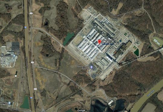 Century Aluminum's Sebree smelter location