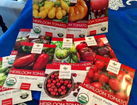 Judy is planning on an extensive tomato garden this spring and summer.