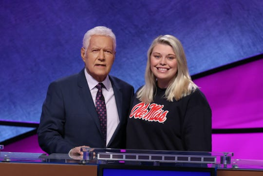 Ole Miss sophomore Londyn Lorenz competed in the 2020 Jeopardy! College Championship.