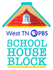 """PBS has partnered with the Tennessee Department of Education to provide standard-aligned programs to students during school closures. """"School House Block"""" is the programming that West TN PBS developed."""