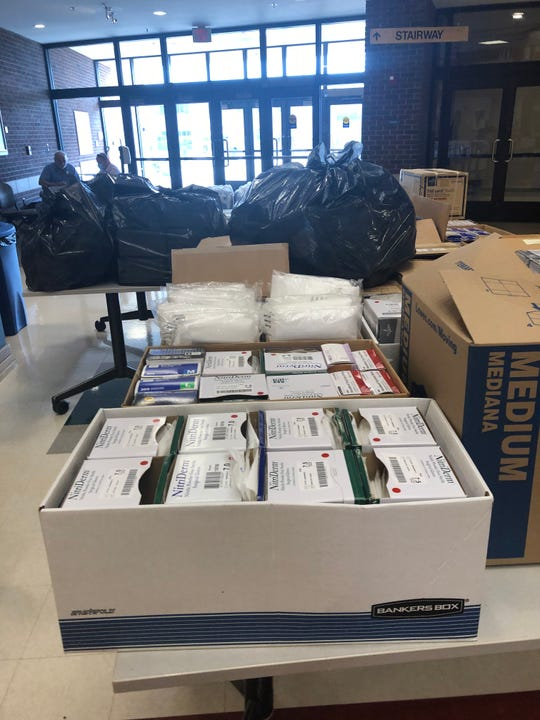 Items donated from Ivy Tech Community College in Lafayette