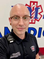 Jack Terpstra, 36, has worked for Livingston County EMS for seven years.
