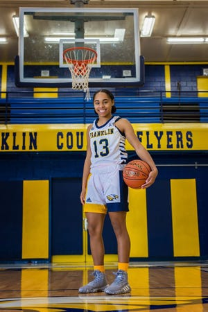 Franklin County High School's Brooklynn Miles is one of the state's top college prospects in the Class of 2021.