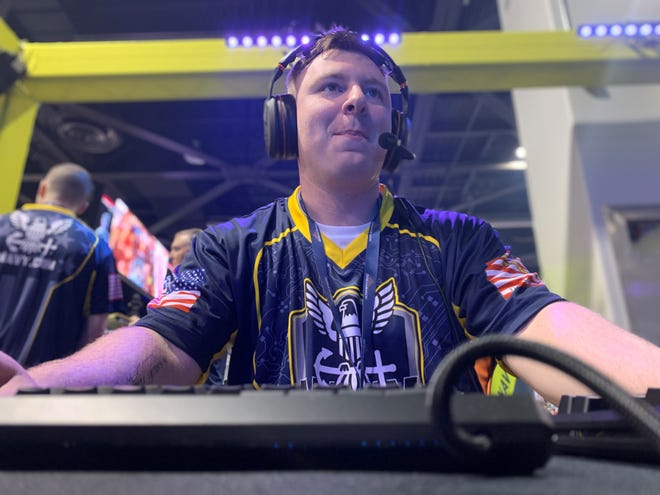The U.S. Navy's esports team made its competitive gaming debut at DreamHack Anaheim in Feburary, with Machinist's Mate 2nd Class Andrew Crosswhite one of its participating members. The Navy is planning to base its esports team in Memphis.