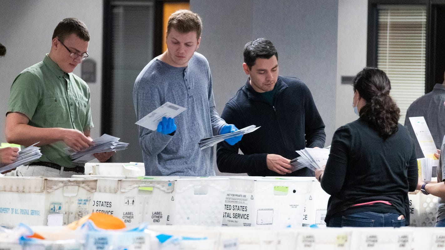 Wisconsin election: Many absentee ballots missing, never delivered