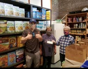 Ricky Grabow, owner of Peak Physique in West Allis, is donating half of hisprofits from new online memberships in April to the food pantry at Mother of Perpetual Help Church.
