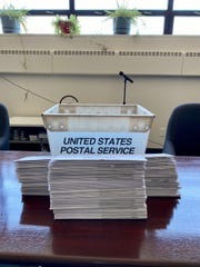 On the morning of Election Day, Fox Point Village Hall received a plastic mail bin with 175 absentee ballots that were supposed to be mailed to residents. Village officials had experienced trouble sending the absentee ballots for two weeks, but never received an explanation.