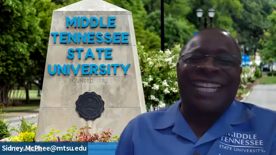 Tennessean Opinion Editor David Plazas spoke to Middle Tennessee State University President Sydney McPhee, on April 7, 2020.