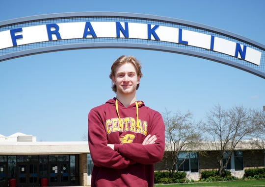 Livonia Franklin High student Jacob Cox is headed off to Central Michigan University where he's hoping to be a force on its hockey team.