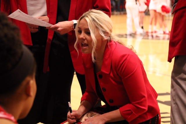 New GCU women's basketball coach Molly Miller.