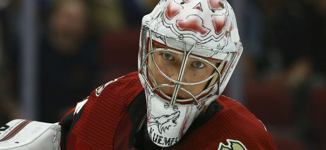Arizona Coyotes goaltender Darcy Kuemper is eager for hockey to return.