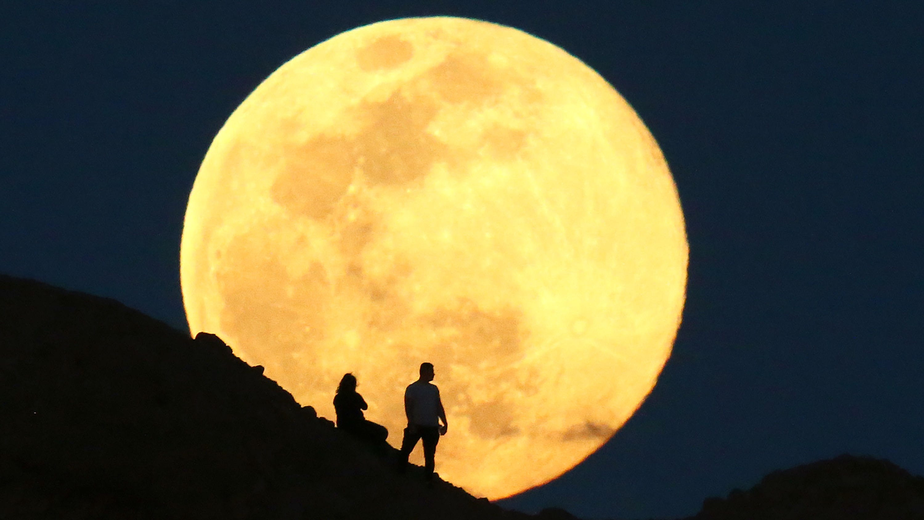 When to see the pink supermoon, the biggest and brightest supermoon of the  year