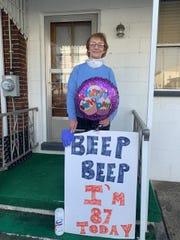 Fredericksburg grandmother Mae Buch celebrated her 87th birthday on Tuesday.