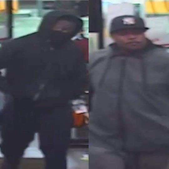 New York State Police are searching for the identity of these two men who robbed a village of Fishkill Shell gas station on Feb. 1, 2020.