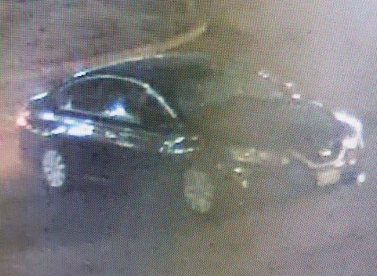 State police believe two men fled in this vehicle after they robbed a Shell gas station on Feb. 1, 2020.