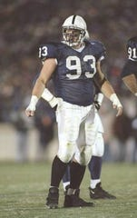 Brandon Noble helped to anchor Penn State's defensive line in the mid-1990s before a seven-season career in the NFL.