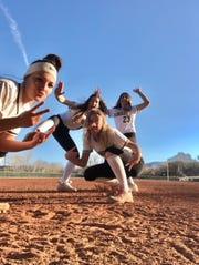 The Bishop Manogue softball team was excited for this season.