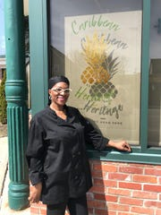 Lorna Underwood is owner of Caribbean Heritage restaurant, 719 S. Plymouth Ave.